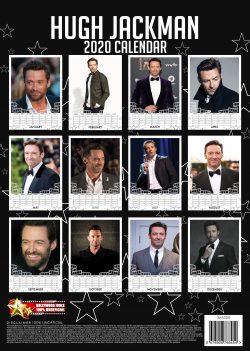 Hugh Jackman A3 Calendar 2020