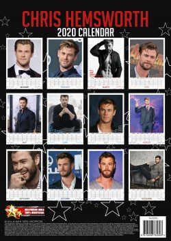 Chris Hemsworth  (Thor) A3 Calendar 2020