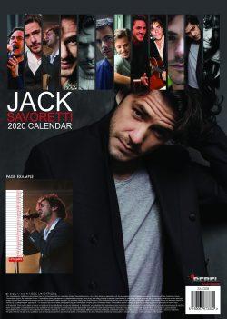 Jack Savoretti A3 Calendar 2020
