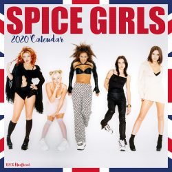Spice Girls 12″ 2020 Calendar