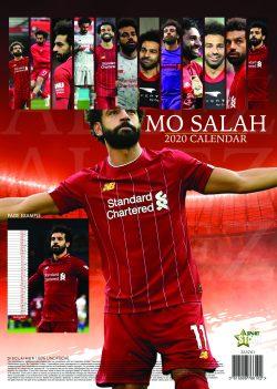 Mo Salah A3 2020 Calendar