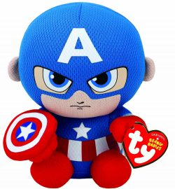 TY BEANIE IRON MAN – CAPTAIN AMERICA