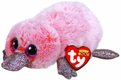 TY BEANIE BOO – WILMA PINK PLATYPUS