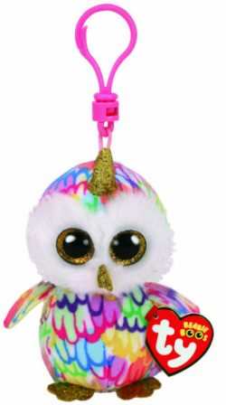 TY BOO KEY CLIP – ENCHANTED OWL