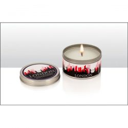 London Skyline Vanilla Scented Tin Candle