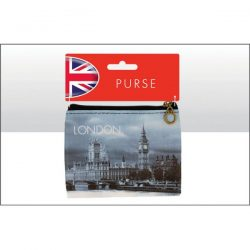 London Big Ben B/W Photo Zip Purse