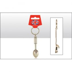 Telephone Box Spoon Bottle Opener Keyring