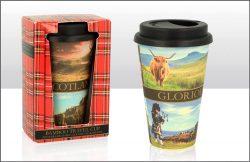 Glorious Scotland Bamboo Coffee Cup
