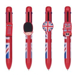 Union Jack Multi Colour Pen (6 Colours)
