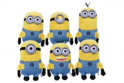 DM2 MINION PLUSH 6 ASSORTED