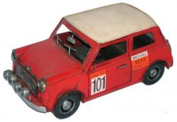 METAL ART RED RACING MINI
