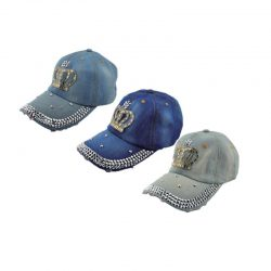 Bling Crown Baseball Cap
