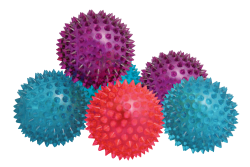 Flashing Spikey Air Balls