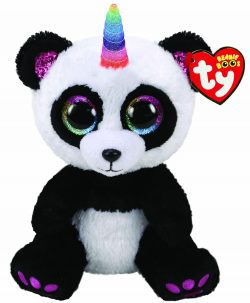 TY BOO BUDDY – PARIS PANDA WITH HORN