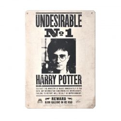 Tin Sign Small – Harry Potter (Undesireable No 1)