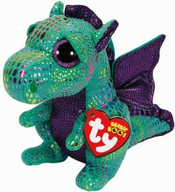 TY BEANIE BOO CINDER THE DRAGON