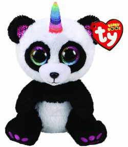 TY BEANIE BOO – PARIS PANDA WITH HORN