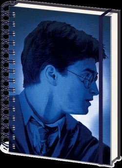 HARRY POTTER  LENTICULAR COVER NOTEBOOK