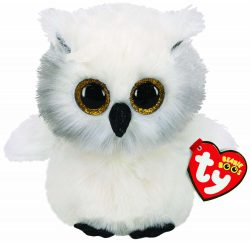 TY BEANIE BOO -AUSTIN OWL