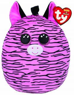TY Zoey Zebra Squish 12″
