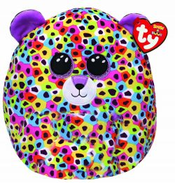 TY Giselle Leopard Squish 12″